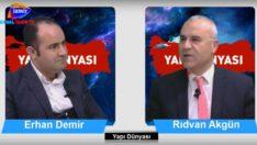Yapı Dünyası Rıdvan Akgün'ün konuğu Yalı Yapı İnşaat Erhan Demir