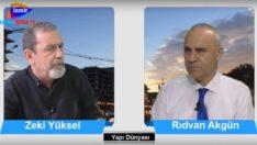Yapı Dünyası Rıdvan Akgün 'ün konuğu Zeki Yüksel