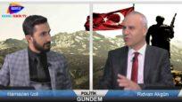 Politik Gündem Rıdvan Akgün 'ün konuğu İzol aşireti sözcülerinden Ramazan İzol