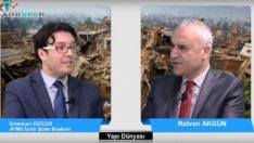 Yapı Dünyası Rıdvan Akgün'ün konuğu Sinancan Öziçer