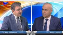 Kanal İzmir TV – 17 EKİM 2017 – Politik Gündem – Rıdvan Akgün ve Prof.Dr. İbrahim Attila Acar