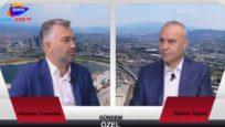 Kanal İzmir Tv- 8 Ağustos 2017  Gündem Özel Rıdvan Akgün 'ün konuğu TÜGİAD Ege Şube Başkanı Hüseyin Canpolat