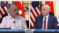Kanal İzmir Tv- 24 Mayıs 2017 Politik Gündem Rıdvan Akgün 'ün konuğu Prof.Dr. Hüsnü Erkan